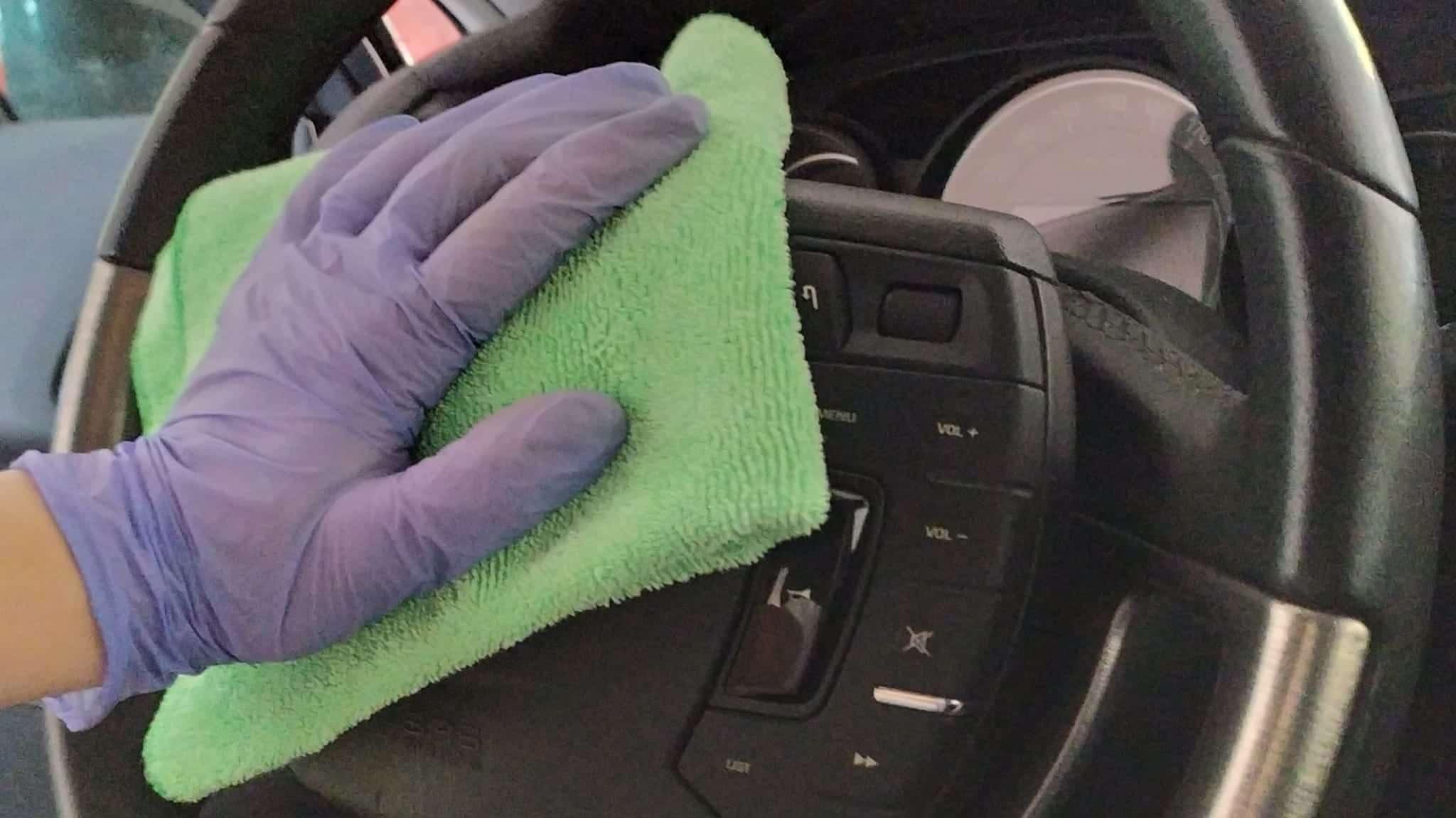 Cómo desinfectar tu coche